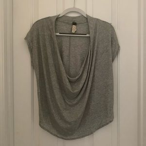 Free people T-shirt with scoop neck